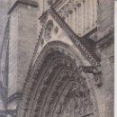 Postales: FRANCIA POITIERS LA CATEDRAL 1913 POSTAL CIRCULADA . Lote 165450710