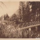 Postales: FRANCIA ABADIA DE BELLEFONTAINE VISTA DEL LAGO 1941 POSTAL CIRCULADA . Lote 165621470