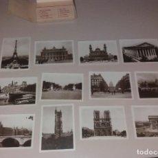 Postales: POSTALES. PARIS, 20 FOTOGRAFÍAS ANTIGUAS, ÉDITIONS A. NOYER, AÑOS 40/40. SERIE COMPLETA CON ESTUCHE. Lote 166133258