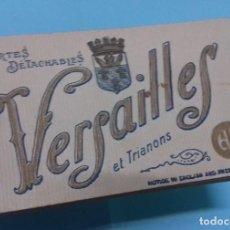 Postales: TACO O LIBRO CON 20 ANTIGUAS POSTALES DE VERSAILLES CARTES DETACHABLES. PAPEGHIN.. Lote 166204314