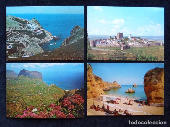 Postales: LOTE DE ÁLBUMES Y POSTALES DE PORTUGAL (39 POSTALES), AÑOS 60-70 - Foto 3 - 166348746