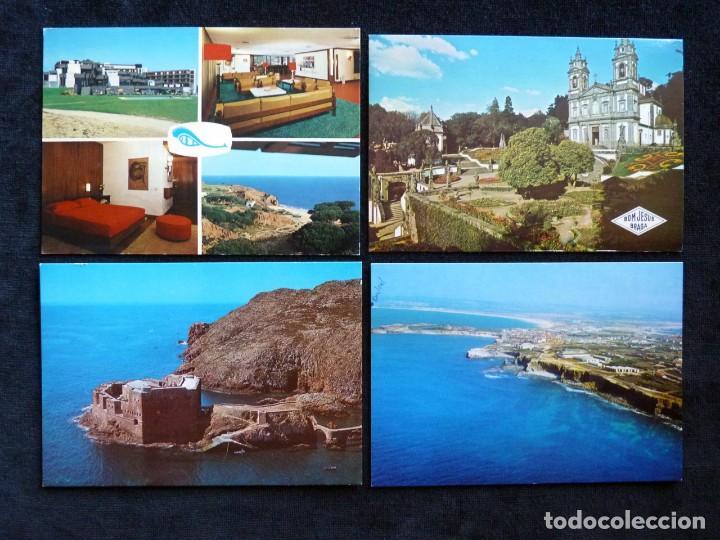 Postales: LOTE DE ÁLBUMES Y POSTALES DE PORTUGAL (39 POSTALES), AÑOS 60-70 - Foto 5 - 166348746