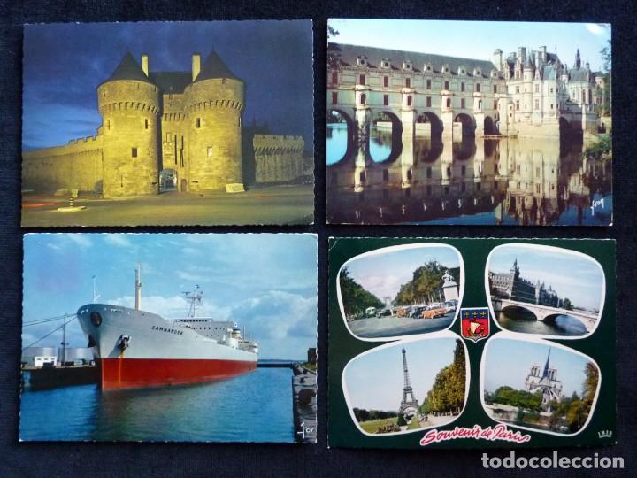 Postales: LOTE DE 20 POSTALES DE FRANCIA. AÑOS 60-70 - Foto 4 - 166348862