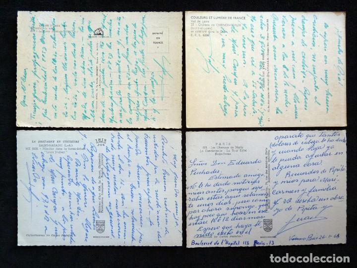 Postales: LOTE DE 20 POSTALES DE FRANCIA. AÑOS 60-70 - Foto 5 - 166348862