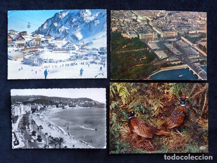 Postales: LOTE DE 20 POSTALES DE FRANCIA. AÑOS 60-70 - Foto 6 - 166348862