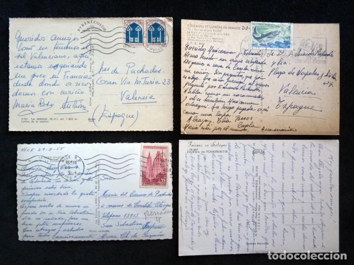 Postales: LOTE DE 20 POSTALES DE FRANCIA. AÑOS 60-70 - Foto 7 - 166348862