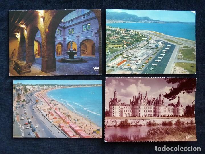 Postales: LOTE DE 20 POSTALES DE FRANCIA. AÑOS 60-70 - Foto 8 - 166348862