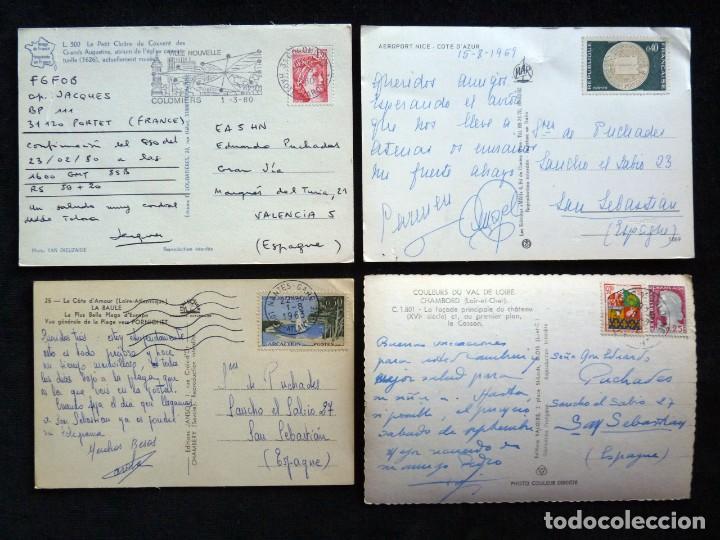 Postales: LOTE DE 20 POSTALES DE FRANCIA. AÑOS 60-70 - Foto 9 - 166348862
