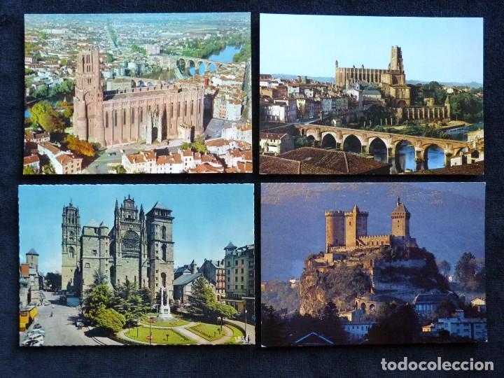 Postales: LOTE DE 20 POSTALES DE FRANCIA. AÑOS 60-70 - Foto 10 - 166348862