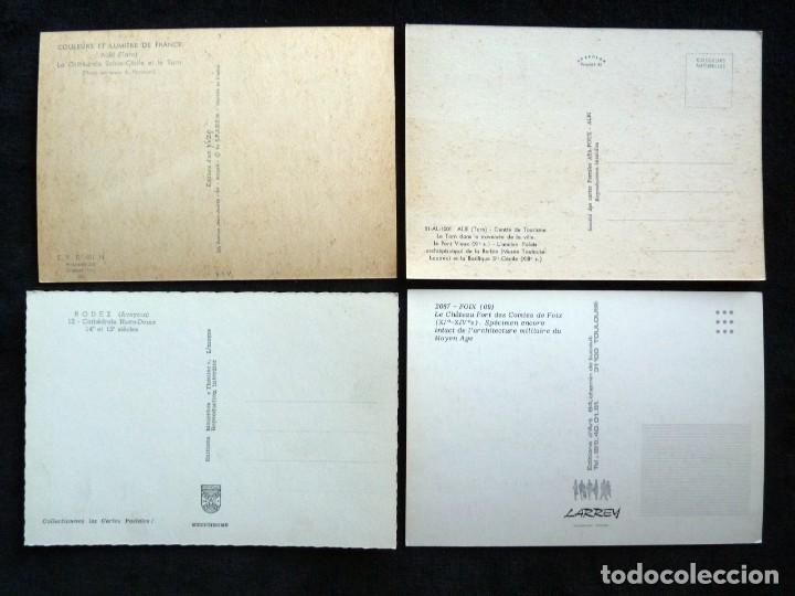 Postales: LOTE DE 20 POSTALES DE FRANCIA. AÑOS 60-70 - Foto 11 - 166348862
