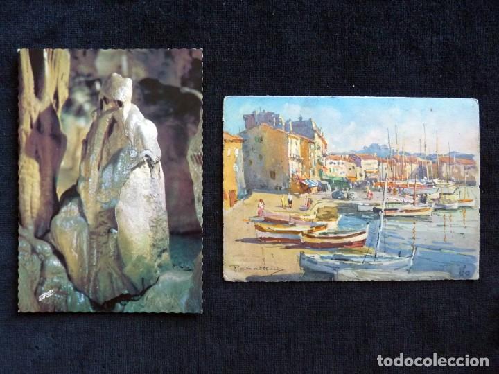 Postales: LOTE DE 20 POSTALES DE FRANCIA. AÑOS 60-70 - Foto 12 - 166348862