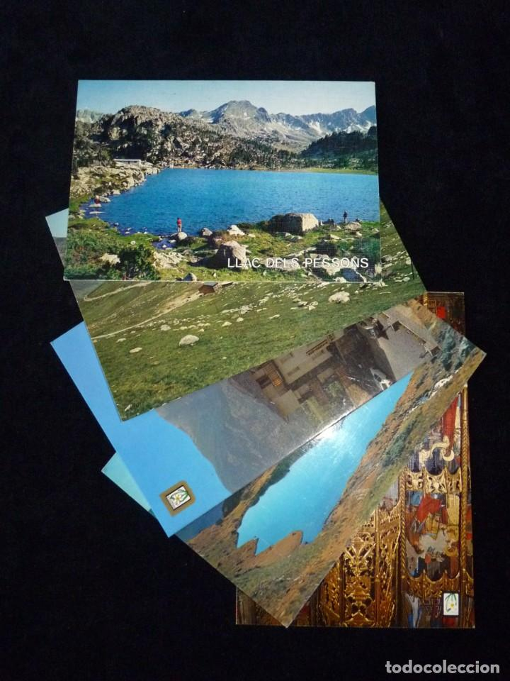 LOTE DE 5 POSTALES DE ANDORRA. AÑOS 60-70, SIN CIRCULAR (Postales - Postales Extranjero - Europa)