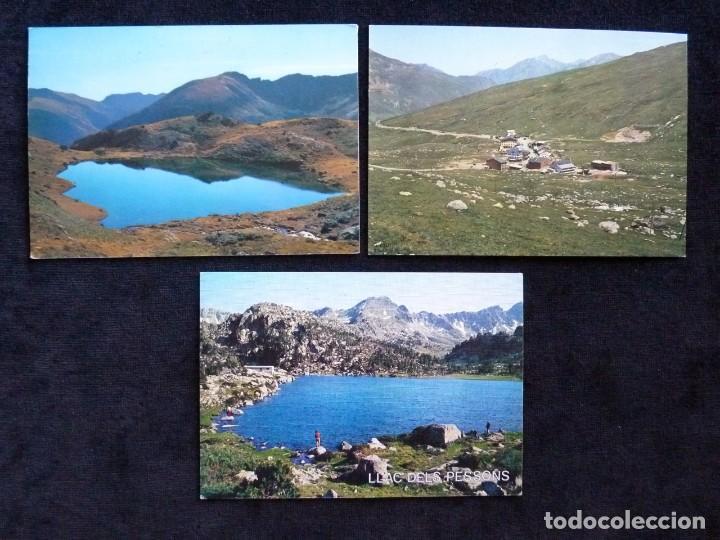 Postales: LOTE DE 5 POSTALES DE ANDORRA. AÑOS 60-70, SIN CIRCULAR - Foto 2 - 166349038