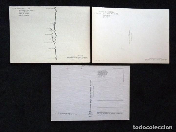 Postales: LOTE DE 5 POSTALES DE ANDORRA. AÑOS 60-70, SIN CIRCULAR - Foto 3 - 166349038