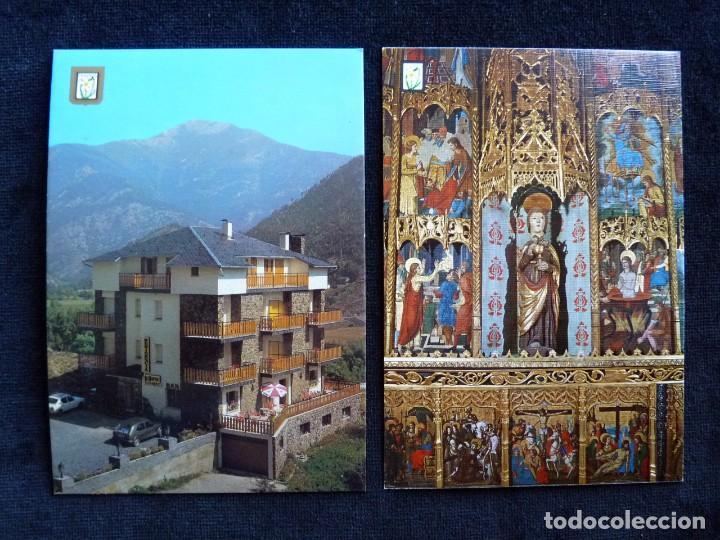 Postales: LOTE DE 5 POSTALES DE ANDORRA. AÑOS 60-70, SIN CIRCULAR - Foto 4 - 166349038