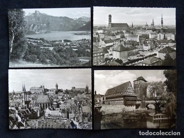 Postales: LOTE DE 19 POSTALES DE EUROPA. AÑOS 50-70, CIRCULADAS Y SIN CIRCULAR - Foto 2 - 166349122