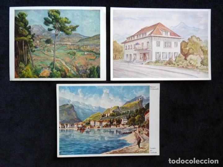 Postales: LOTE DE 19 POSTALES DE EUROPA. AÑOS 50-70, CIRCULADAS Y SIN CIRCULAR - Foto 6 - 166349122