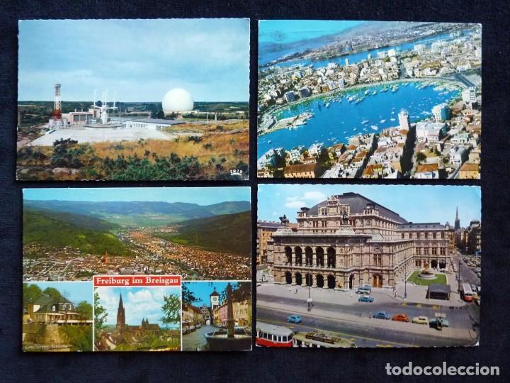Postales: LOTE DE 19 POSTALES DE EUROPA. AÑOS 50-70, CIRCULADAS Y SIN CIRCULAR - Foto 8 - 166349122