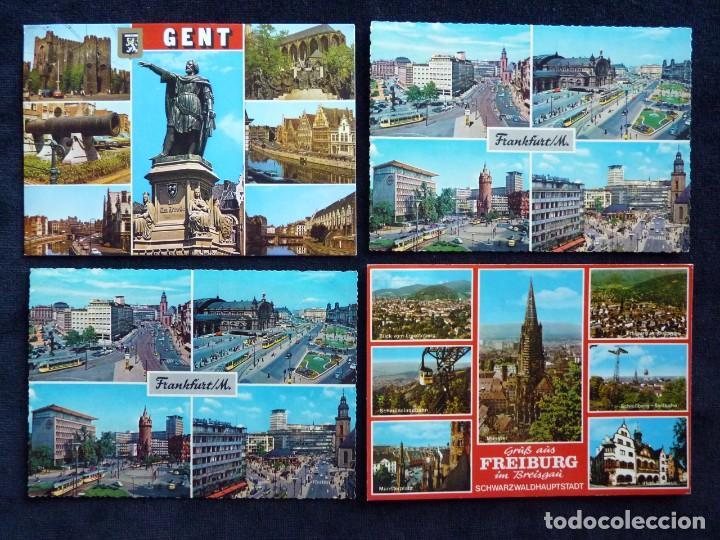 Postales: LOTE DE 19 POSTALES DE EUROPA. AÑOS 50-70, CIRCULADAS Y SIN CIRCULAR - Foto 9 - 166349122