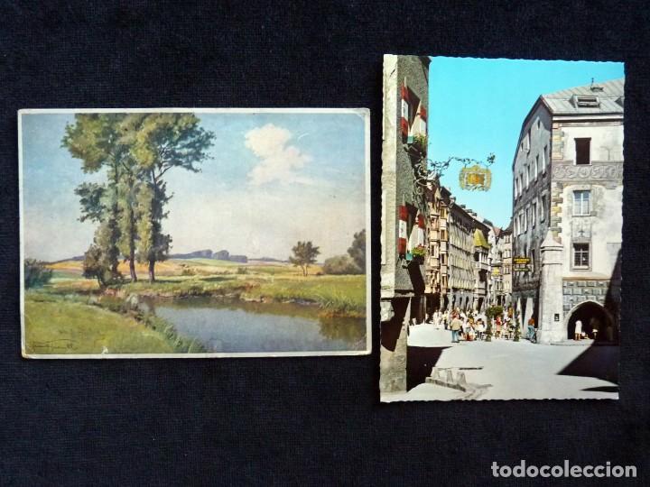 Postales: LOTE DE 19 POSTALES DE EUROPA. AÑOS 50-70, CIRCULADAS Y SIN CIRCULAR - Foto 10 - 166349122