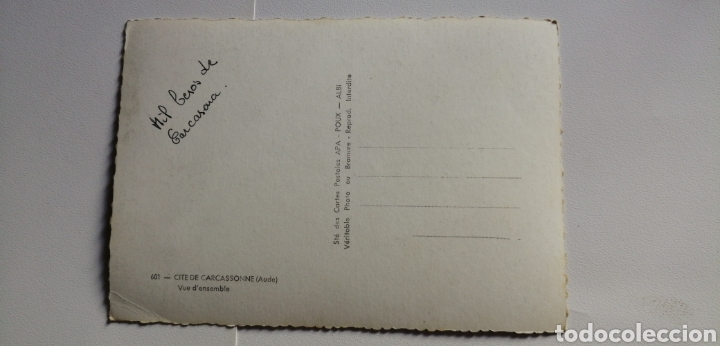 Postales: Postal Francia cite de Carcassonne aude - Foto 2 - 166425886