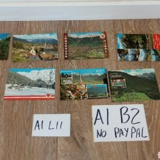 Postales: LOTE 10 POSTALES SIN CIRCULAR TIROL AUSTRIA. Lote 166487009