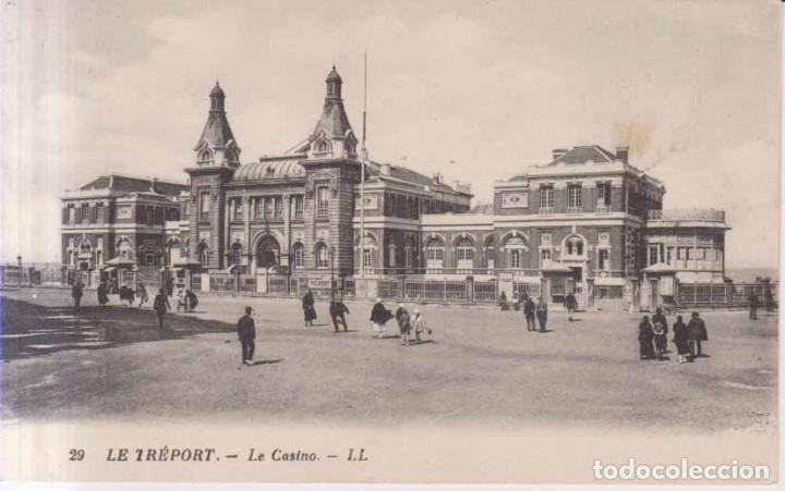 FRANCIA FRANCIA LE TREPORT EL CASINO 1922 POSTAL CIRCULADA (Postales - Postales Extranjero - Europa)