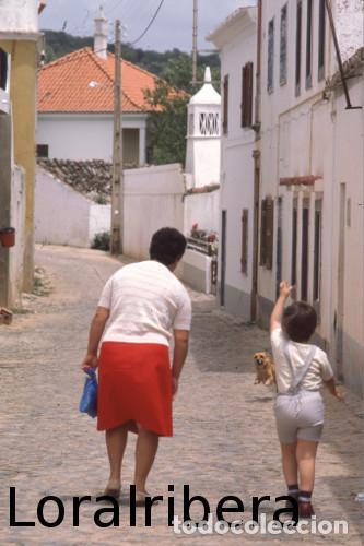 DIAPOSITIVA PORTUGAL LOULÉ ALTE 1985 KODACHROME 35MM SLIDE ALGARVE FREGUESIA CASA (Postales - Postales Extranjero - Europa)