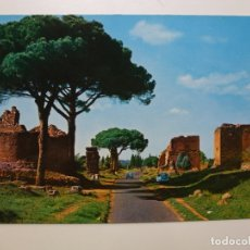 Postales: POSTAL. ITALIA. ROMA. VIA APPIA ANTICA. ED. PLURIGRAF TERNI. NO ESCRITA. . Lote 166874124