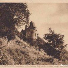 Postales: FRANCIA FRANCIA SAINTE SUZANNE EL CASTILLO 1929 POSTAL CIRCULADA . Lote 167304040