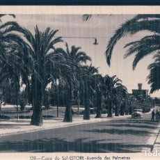 Postales: POSTAL COSTA DO SOL - ESTORIL - AVENIDA DAS PALMEIRAS - PORTUGAL - DULLA . Lote 167684560