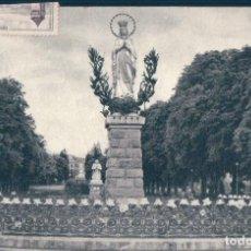 Postales: POSTAL LOURDES - LA VIERGE COURONNEE - DOUCET - EDLUX - FRANCIA. Lote 167738524