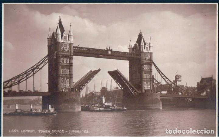 POSTAL LONDRES - LONDON - TOWER BRIDGE - JUPGES (Postales - Postales Extranjero - Europa)