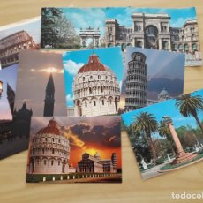 Postales: LOTE DE TARJETAS POSTALES DE ITALIA SIN ESCRIBIR. Lote 168075938