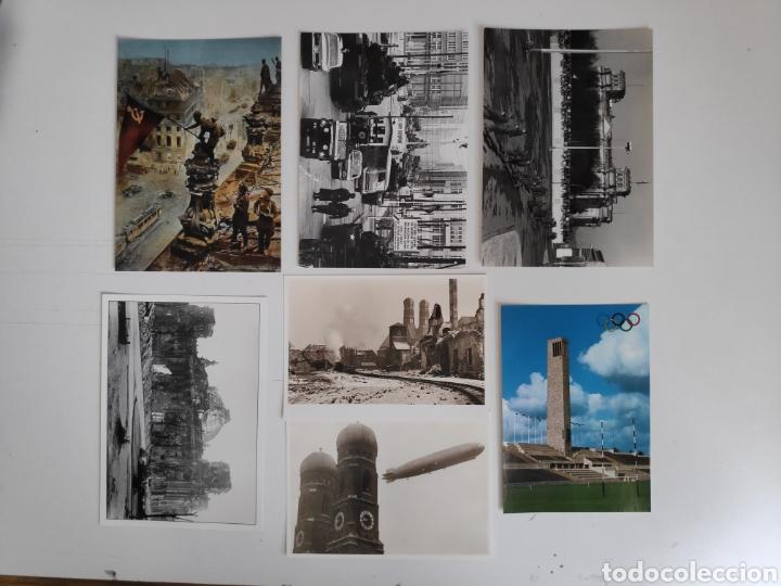 LOTE DE 7 POSTALES HISTORICAS DE BERLIN. SEGUNDA GUERRA MUNDIAL, POSTGUERRA (Postales - Postales Extranjero - Europa)