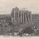 Postales: FRANCIA BEAUVAIS CATEDRAL DE SAN PEDRO 1917 POSTAL CIRCULADA . Lote 168562680