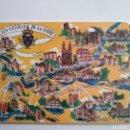 Postales: FRANCIA: LES CHATEAUX DE LA LOIRE. Lote 168598696