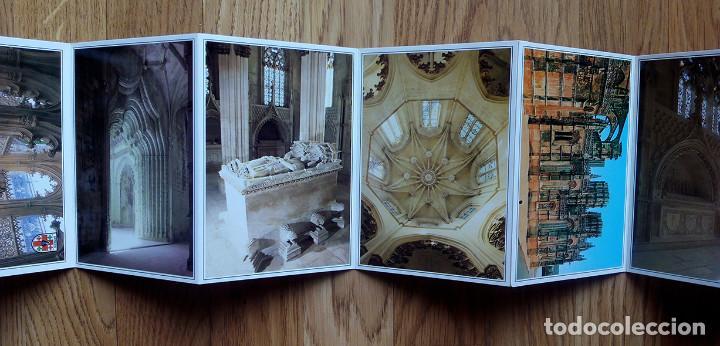 Postales: Mosteiro da Batalha. Monasterio de Batalha. Portugal. Libro acordeón con 12 postales - Foto 2 - 169027104