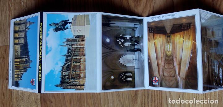 Postales: Mosteiro da Batalha. Monasterio de Batalha. Portugal. Libro acordeón con 12 postales - Foto 3 - 169027104