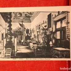 Postales: CINTRA PORTUGAL SALA DOS CISNES DO PALACIO NACIONAL. Lote 169355908