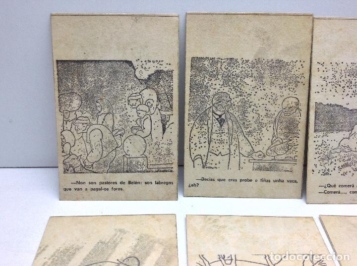 Postales: LOTE POSTALES ANTIGUAS PORTUGAL - HISTORIA SATIRICAS DE LA VIDA - Foto 2 - 169407980