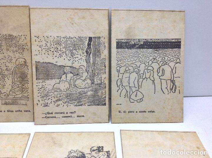 Postales: LOTE POSTALES ANTIGUAS PORTUGAL - HISTORIA SATIRICAS DE LA VIDA - Foto 3 - 169407980