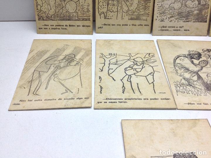 Postales: LOTE POSTALES ANTIGUAS PORTUGAL - HISTORIA SATIRICAS DE LA VIDA - Foto 5 - 169407980
