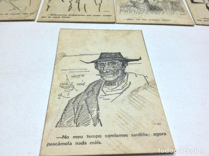 Postales: LOTE POSTALES ANTIGUAS PORTUGAL - HISTORIA SATIRICAS DE LA VIDA - Foto 6 - 169407980