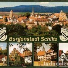 Postales: ALEMANIA & CIRCULADO, SALUDOS DESDE BURGENSTADT SCHLITZ, VIEUX FRANCE 2007 (5345) . Lote 169443232