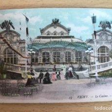 Postales: VICHY FRANCIA LE CASINO. Lote 169457556