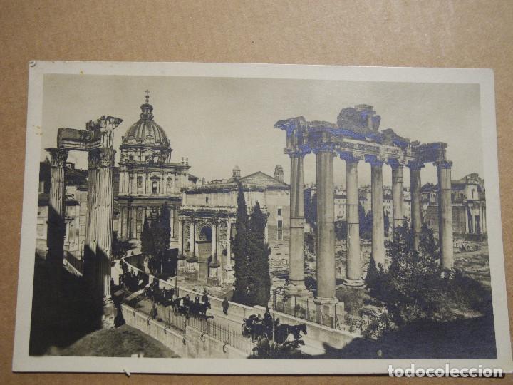 PARTE DEL FORO ROMANO. ROMA CON NUOVI SCAVI. N. 4514/27 CIRCULADA. (Postales - Postales Extranjero - Europa)
