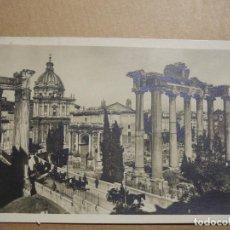 Postales: PARTE DEL FORO ROMANO. ROMA CON NUOVI SCAVI. N. 4514/27 CIRCULADA.. Lote 169768584