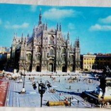 Postales: ITALIA - MILANO, PIAZZA DEL DUOMO - NO CIRCULADA.. Lote 170020884