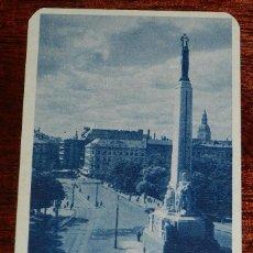 Postales: POSTAL DE RIGA, BLICK AUF DIE ADOLF HITLER STRASSE, ED. FOTOBROM, NO CIRCULADA, ESCRITA.. Lote 170187612